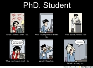 frabz-PhD-Student-What-students-think-I-do-What-my-supervisor-thinks-I-90c562